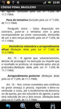 Código Penal Brasileiro GRÁTIS apk screenshot