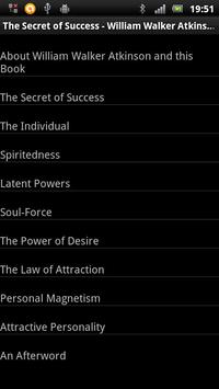The Secret of Success apk screenshot