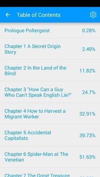 Speed Reader for ePub apk screenshot