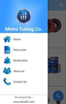 Metro Tubing Co. poster