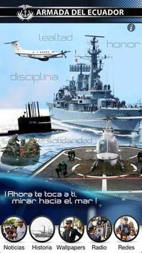 Armada del Ecuador poster