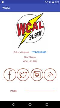 WCAL Power 92 Radio poster
