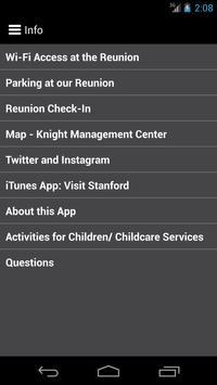Stanford GSB Reunions 2015 apk screenshot