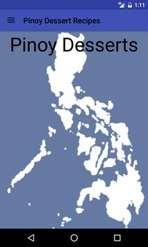 Pinoy Dessert Recipes apk screenshot
