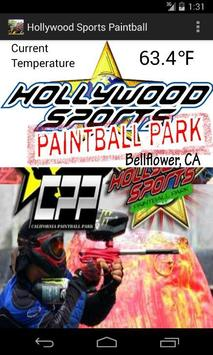 Hollywood Sports Paintball poster