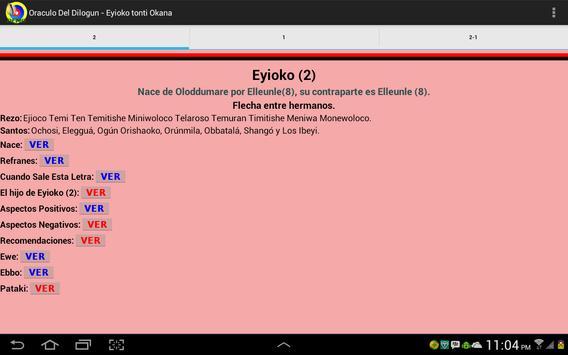 Oracle of Dilogun demo apk screenshot