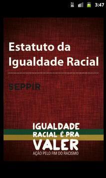 Estatuto da Igualdade Racial poster