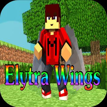 Elytra Wings Mod for MCPE poster