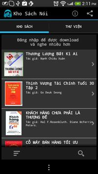 Kho Sách Nói - Kho Sach Noi apk screenshot