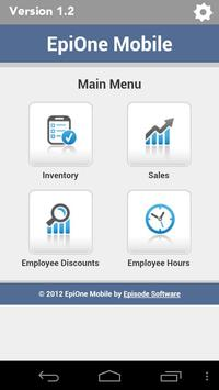 EPIONE POS Mobile Manager poster