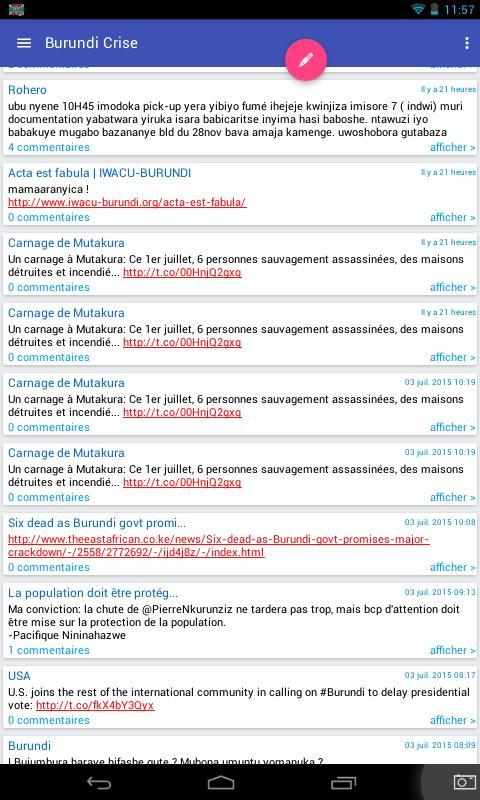 Burundi Direct News APK Download