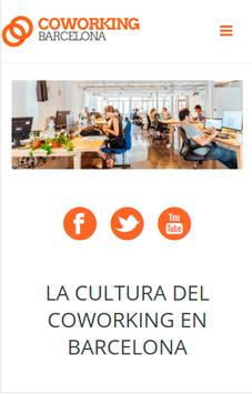 Coworking Barcelona poster