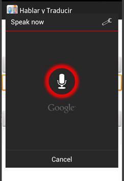 Hablar y Traducir apk screenshot