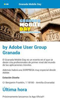 Granada Mobile Day poster