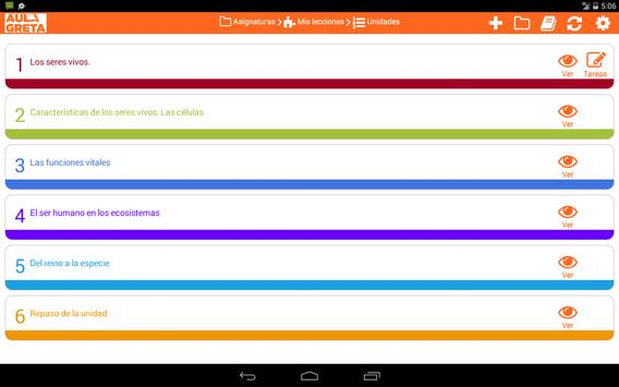 AULAGreta - Grupo Anaya apk screenshot
