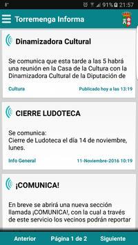 Torremenga Informa poster