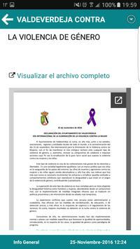Valdeverdeja Informa apk screenshot