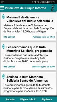 Villanueva del Duque Informa poster