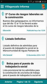 Villagonzalo Informa poster