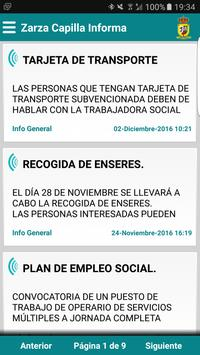 Zarza Capilla Informa poster