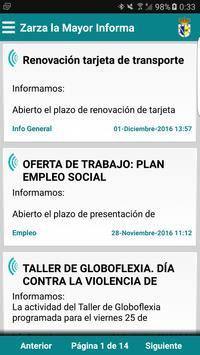 Zarza la Mayor Informa poster