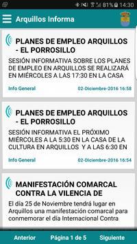 Arquillos Informa poster