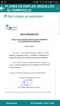 Arquillos Informa apk screenshot