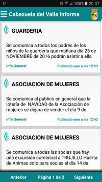 Cabezuela del Valle Informa poster