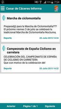 Casar de Cáceres Informa poster