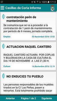 Casillas de Coria Informa poster