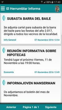 El Herrumblar Informa poster
