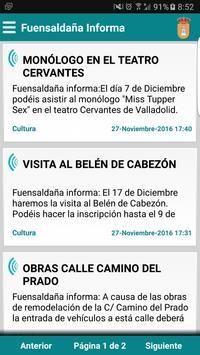 Fuensaldaña Informa poster