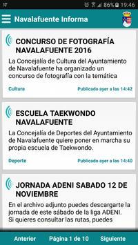 Navalafuente Informa poster