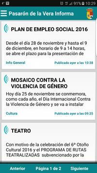 Pasarón de la Vera Informa poster