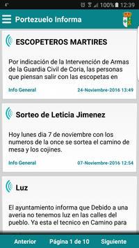Portezuelo Informa poster