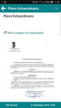 Puebla del Prior Informa apk screenshot