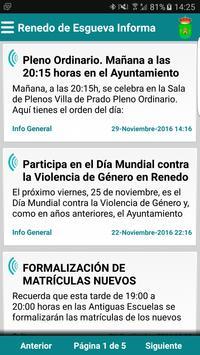 Renedo de Esgueva Informa poster