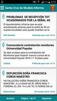 Santa Cruz de Mudela Informa poster