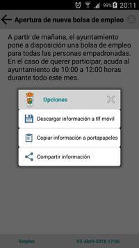 Sanchidrián Informa apk screenshot