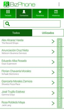 BizPhone Masvoz apk screenshot