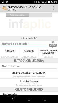 Infaplic Agua apk screenshot
