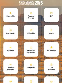 Foro Global Agroalimentario 15 apk screenshot
