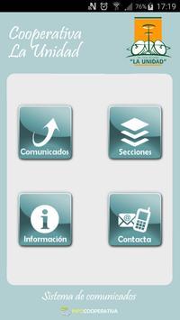 La Unidad Informa poster