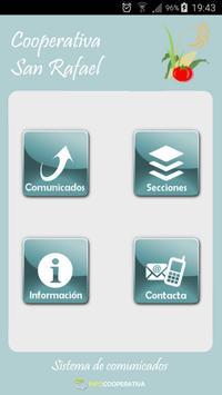 Cooperativa San Rafael Informa poster