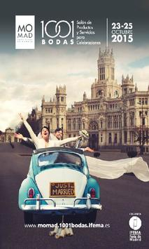 MOMAD 1001 BODAS 2015 poster