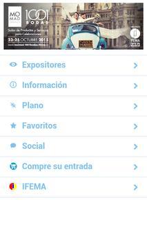 MOMAD 1001 BODAS 2015 apk screenshot