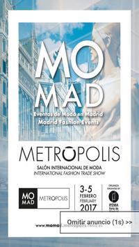 MOMAD METRÓPOLIS FEBRERO 2017 poster