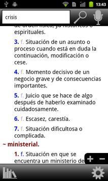 RAE Spanish Dictionary poster