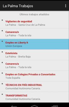Trabajos La Palma apk screenshot