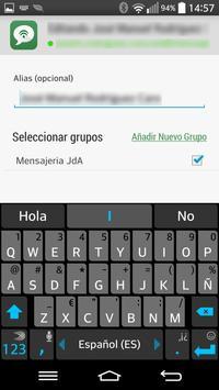 Mensajería Junta apk screenshot